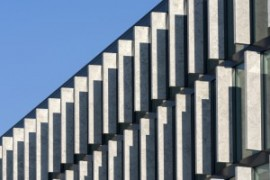 City modern abstract - Architecture of a modern building